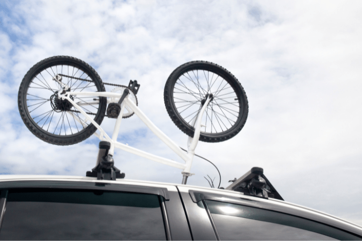 How High Is A Car With Bikes On Roof