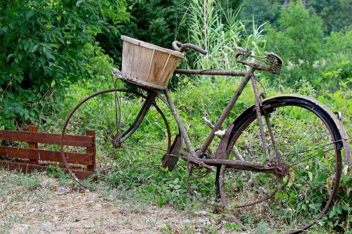 Do Bikes Go Rusty Outside
